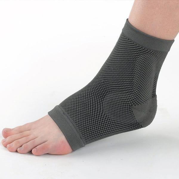 【居家醫療護具】【THC】竹炭矽膠醫療護踝 1