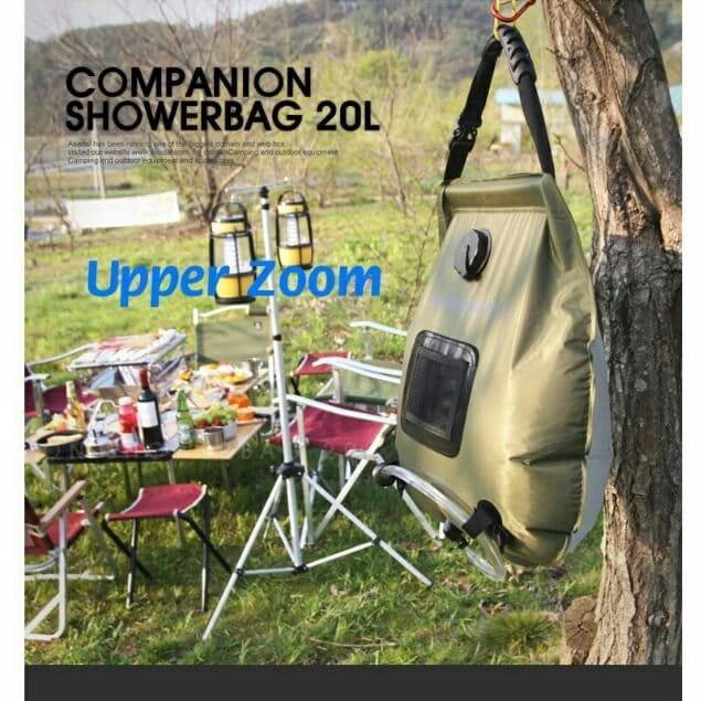 户外沐浴袋 露營 野外洗澡儲水袋20L 0