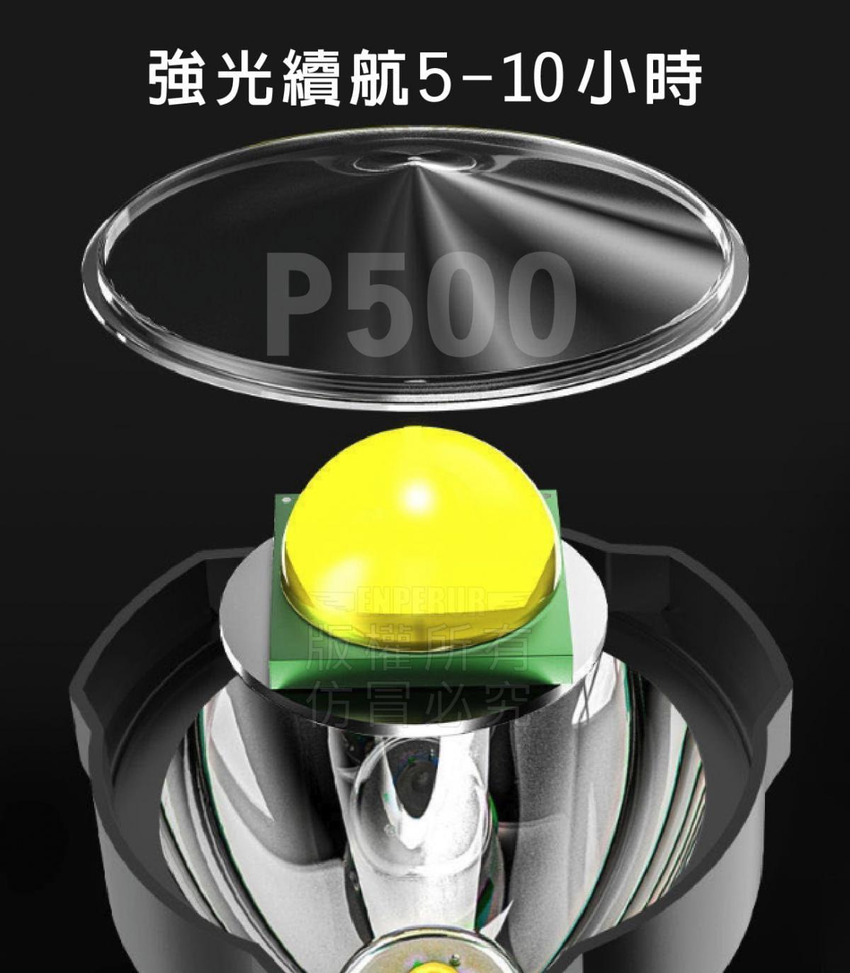 多功能雙光源手電筒 4
