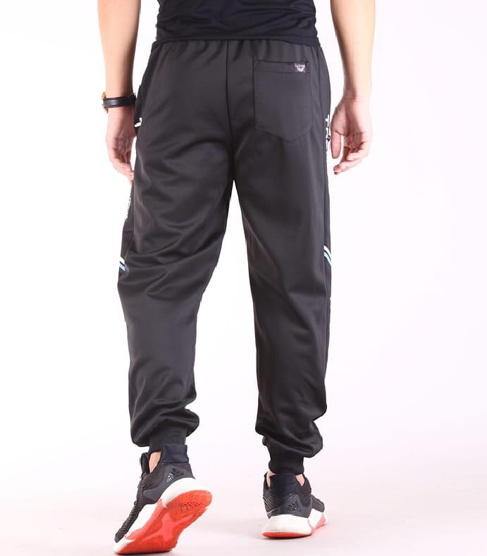【CS衣舖】輕量運動褲 縮口褲 機能 透氣 鬆緊腰圍 防掉拉鍊口袋 兩色 4