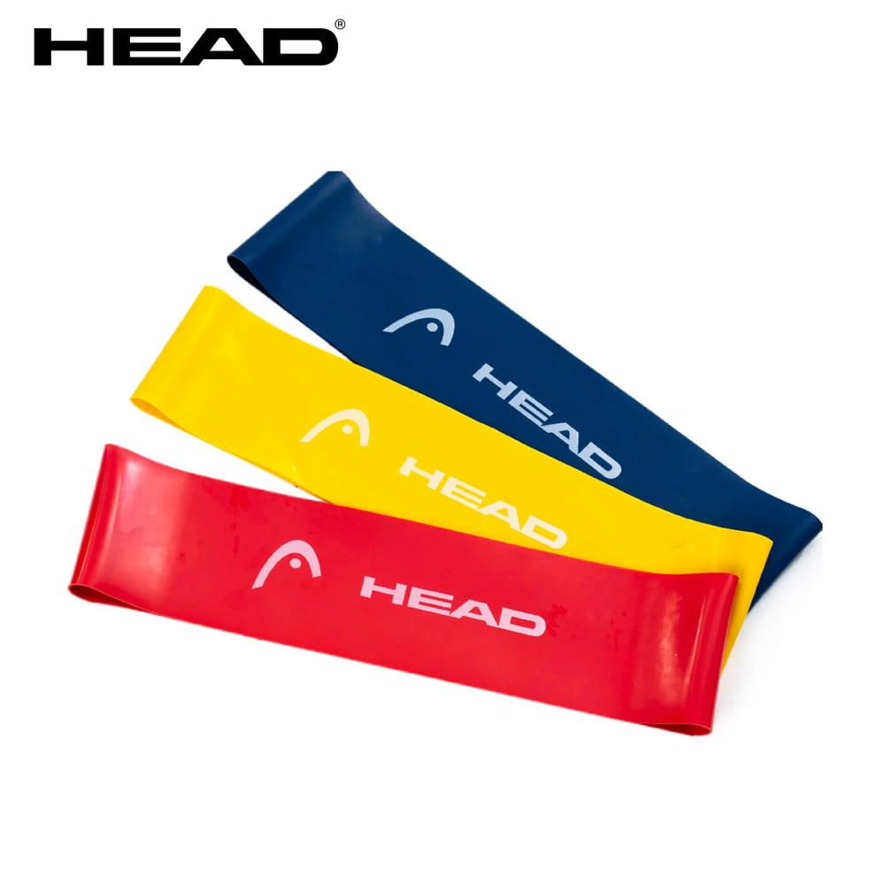 【HEAD】加寬版環狀彈力帶-3入磅數9/14/18kg 0