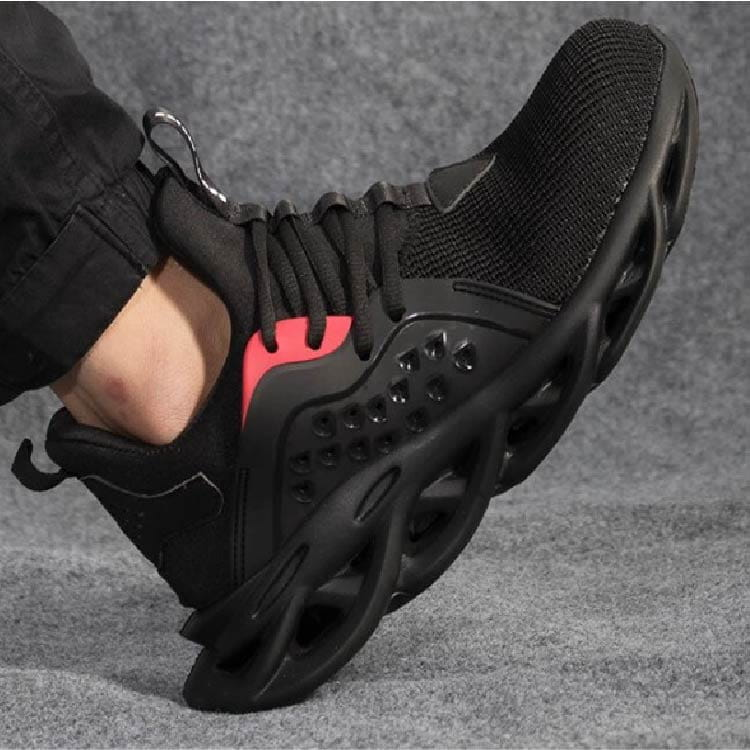 【尼斯生活】黑彈簧機能鋼鐵鞋 12