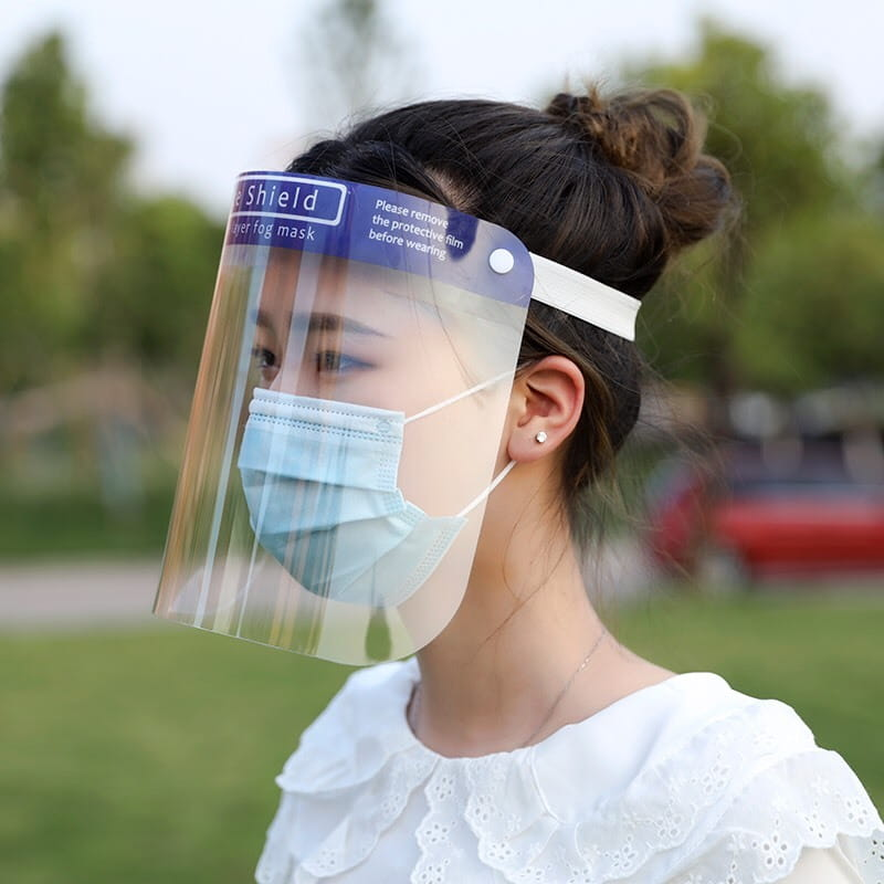 【高品質】防護面罩3入 防飛沫 5
