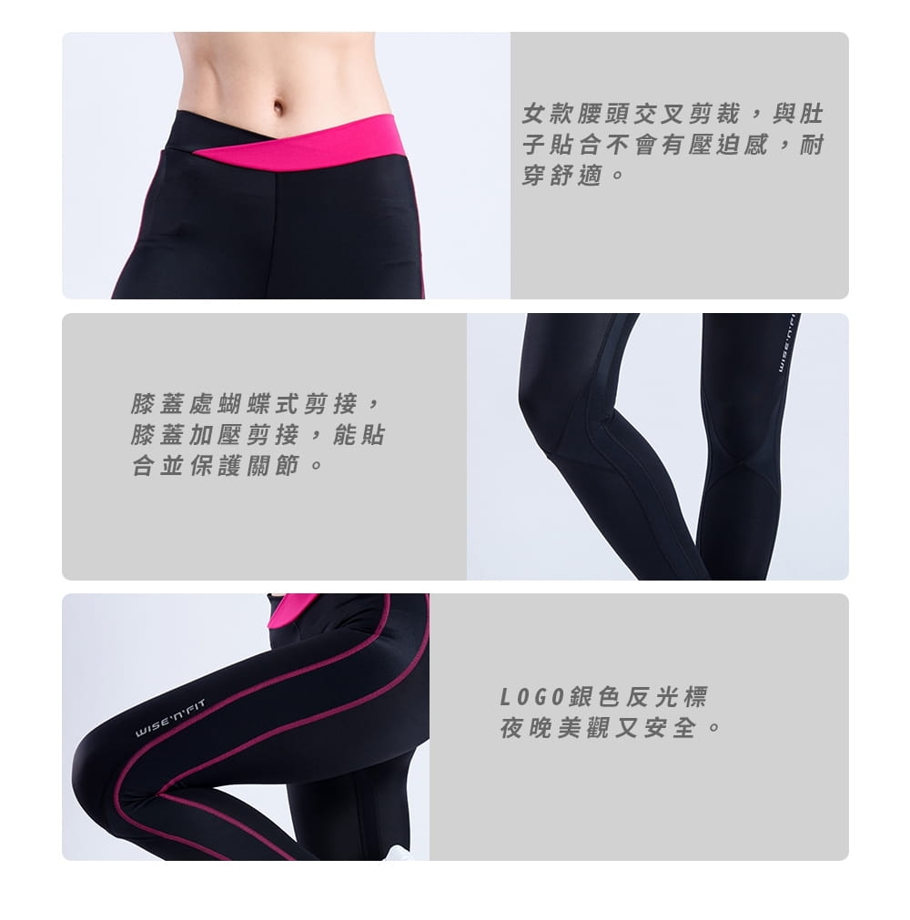 【WISENFIT】台灣製- 塑身訓練壓力褲 4