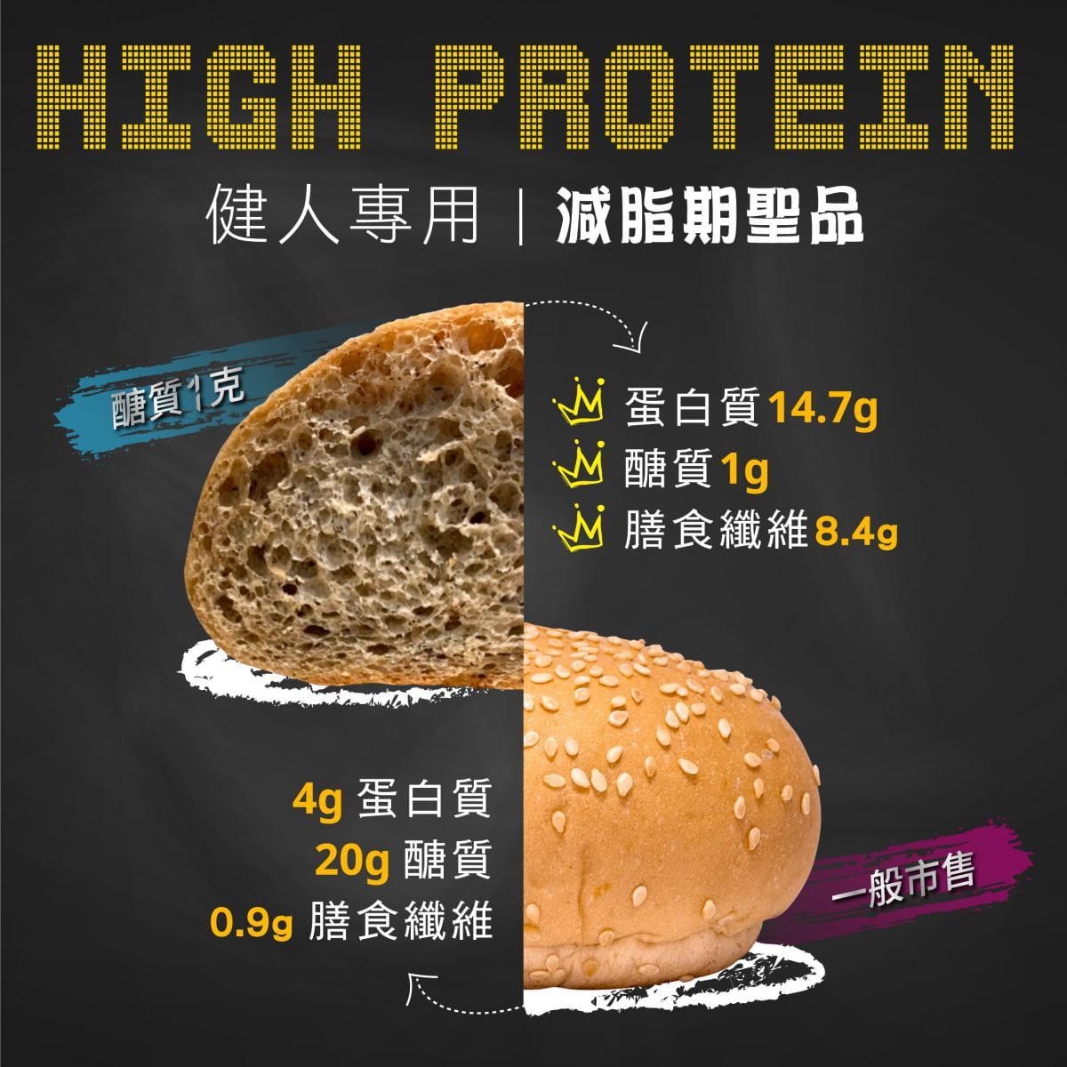 【Bango】醣質1克拉麵+手作麵包組 7