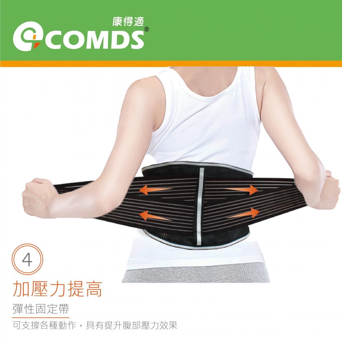 【康得適】UL-501反光纖薄護腰 微笑標章台灣製造 4