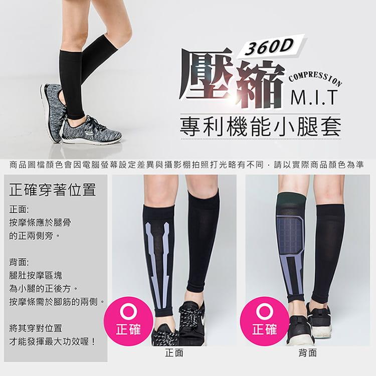 【BeautyFocus】專利機能加壓運動小腿套 12