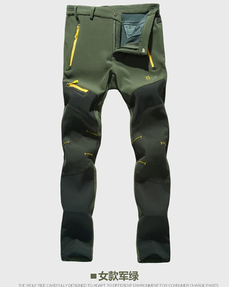 【加絨加厚】拼色防風防水衝鋒褲 戶外機能工作褲【CP16007】 14