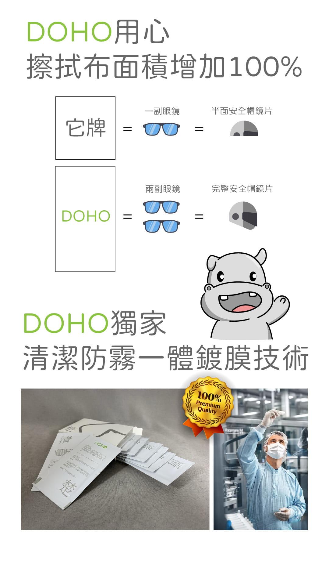 【DOHO】擦清楚防霧清潔片 8