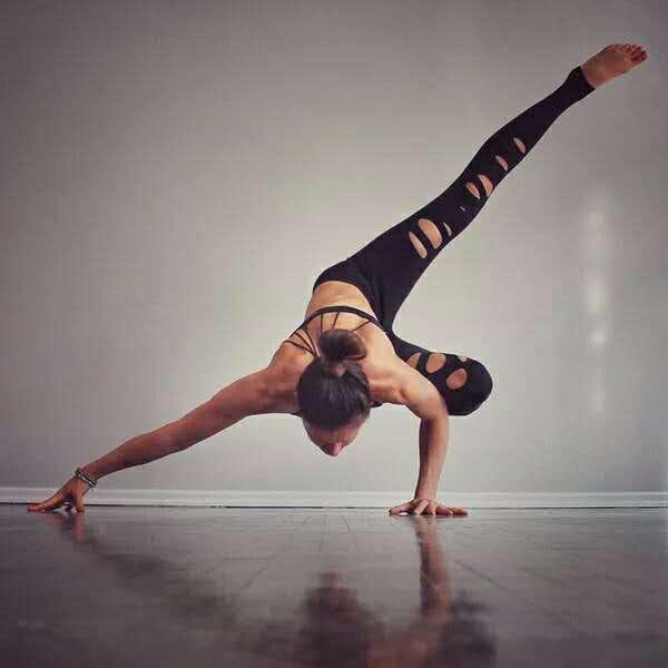 運動休閒長褲韻律有氧跑步瑜珈-KOI 1