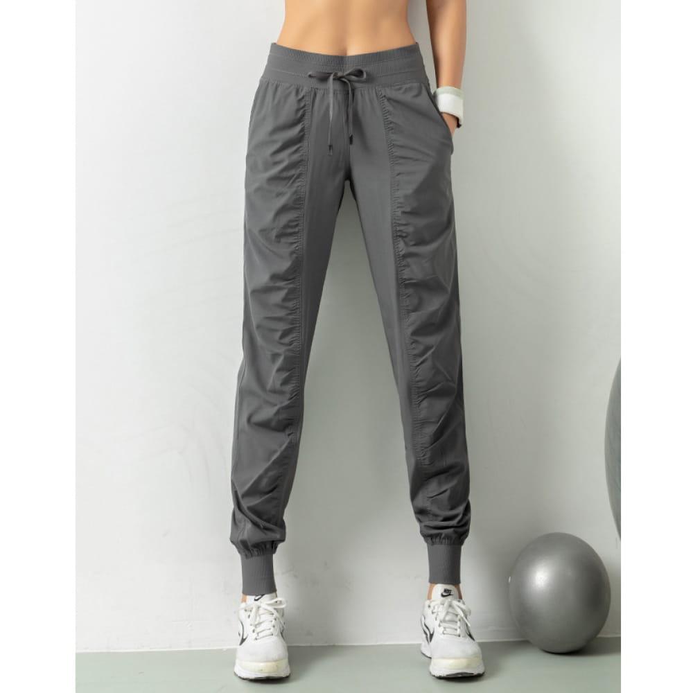 輕薄透氣寬鬆機能運動褲 12