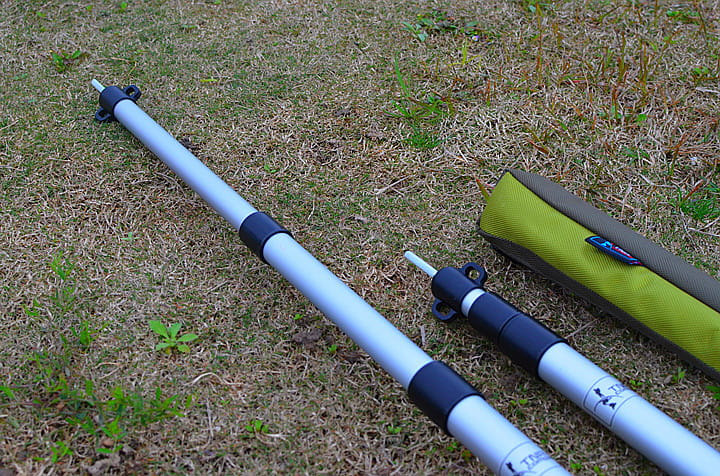 TNR鋁合金天幕可調式支撐營柱 8