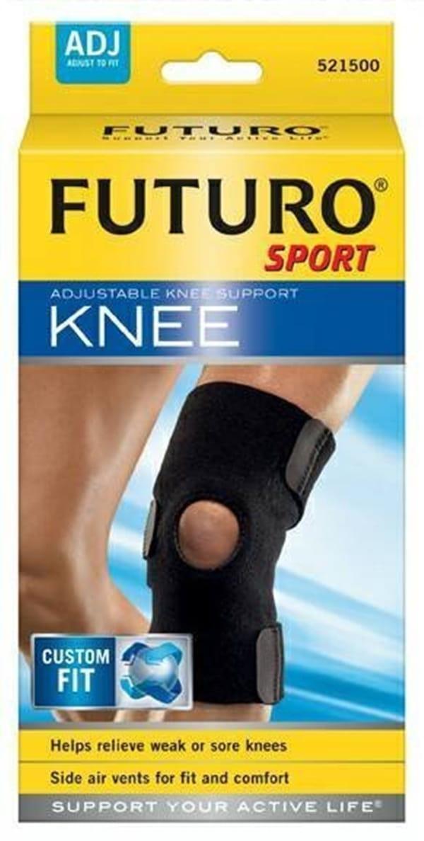 FUTURO運動護膝可調式運動型透氣舒適抗菌防臭羽毛球