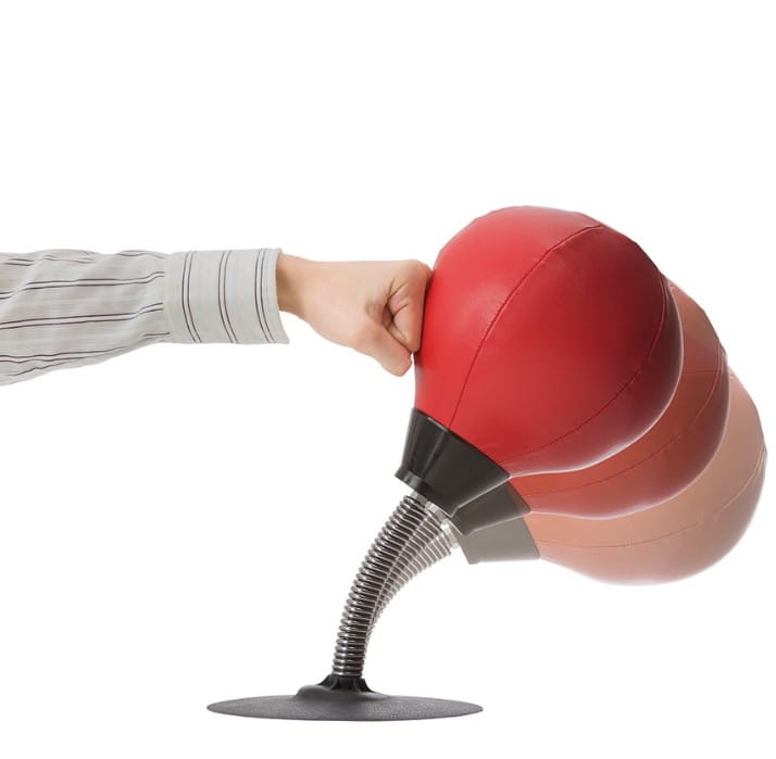 【SUNFAMILY】日本進口 解除壓力拳擊球 3