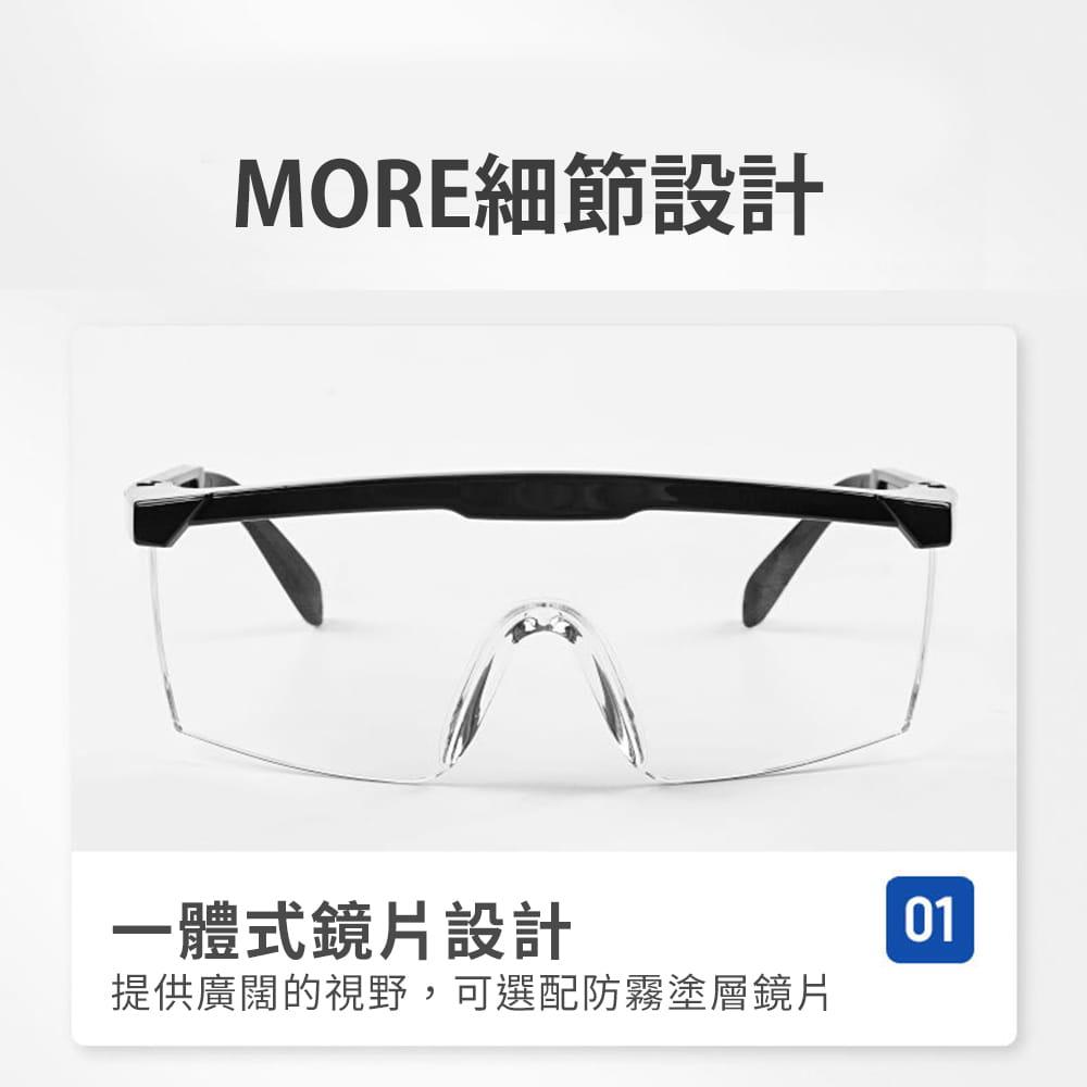 【JAR嚴選】多功能防疫防塵護目鏡(防飛沫) 16