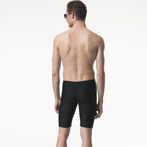 【SARBIS沙兒斯】泡湯 SPA七分泳褲附泳帽B55817 2