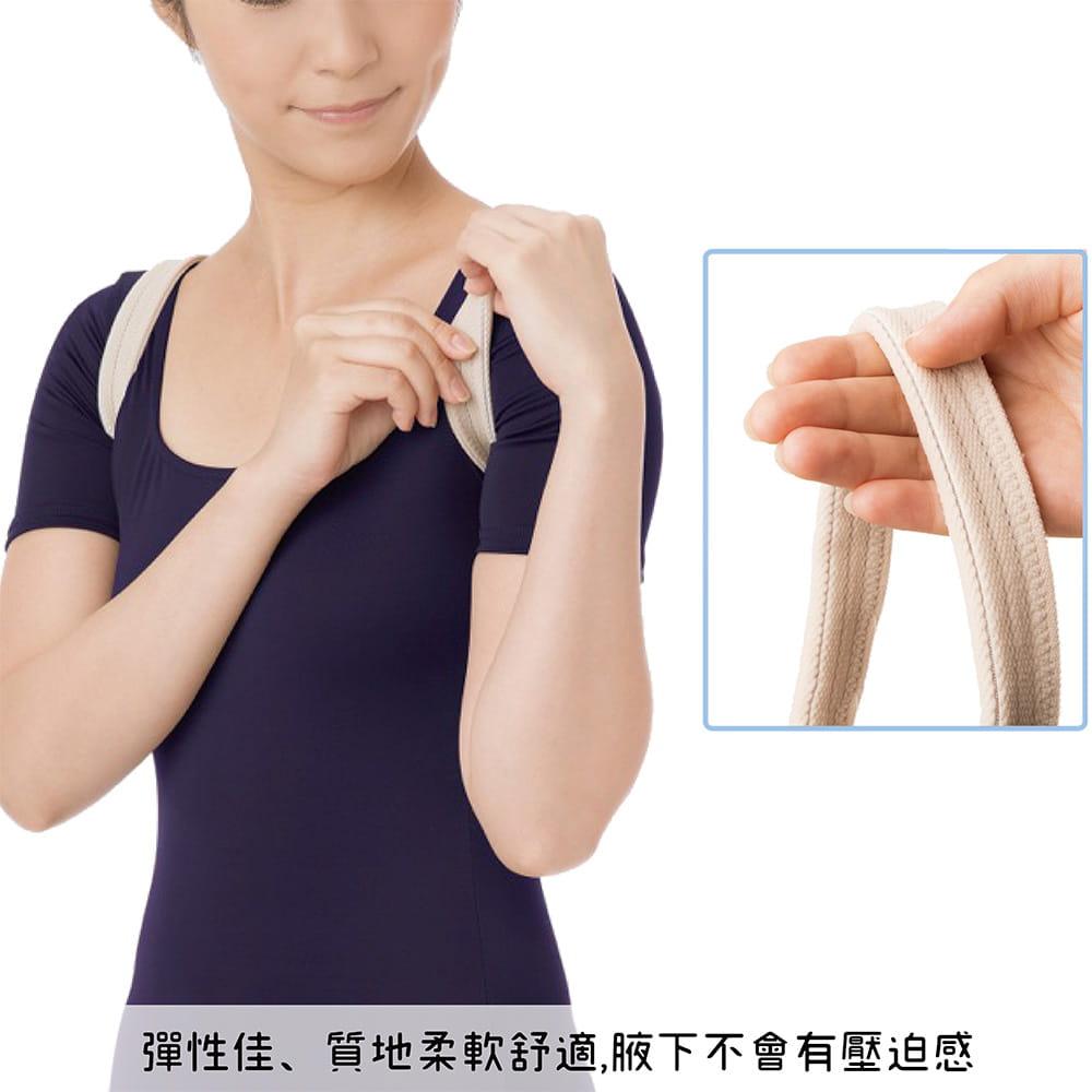 【SUNFAMILY】日本原廠獨家進口 防駝背矯正美姿肩帶(共兩色) 6