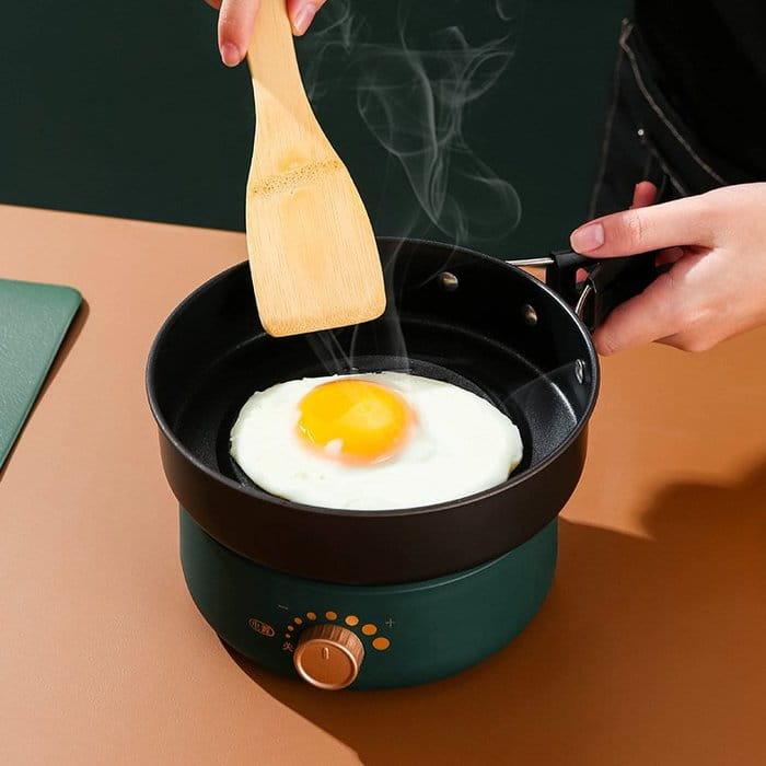(快速出貨)小倉Ogula 多功能便攜式美食鍋1.6L(電煮鍋/快煮鍋/料理鍋/調理鍋電火鍋) 11