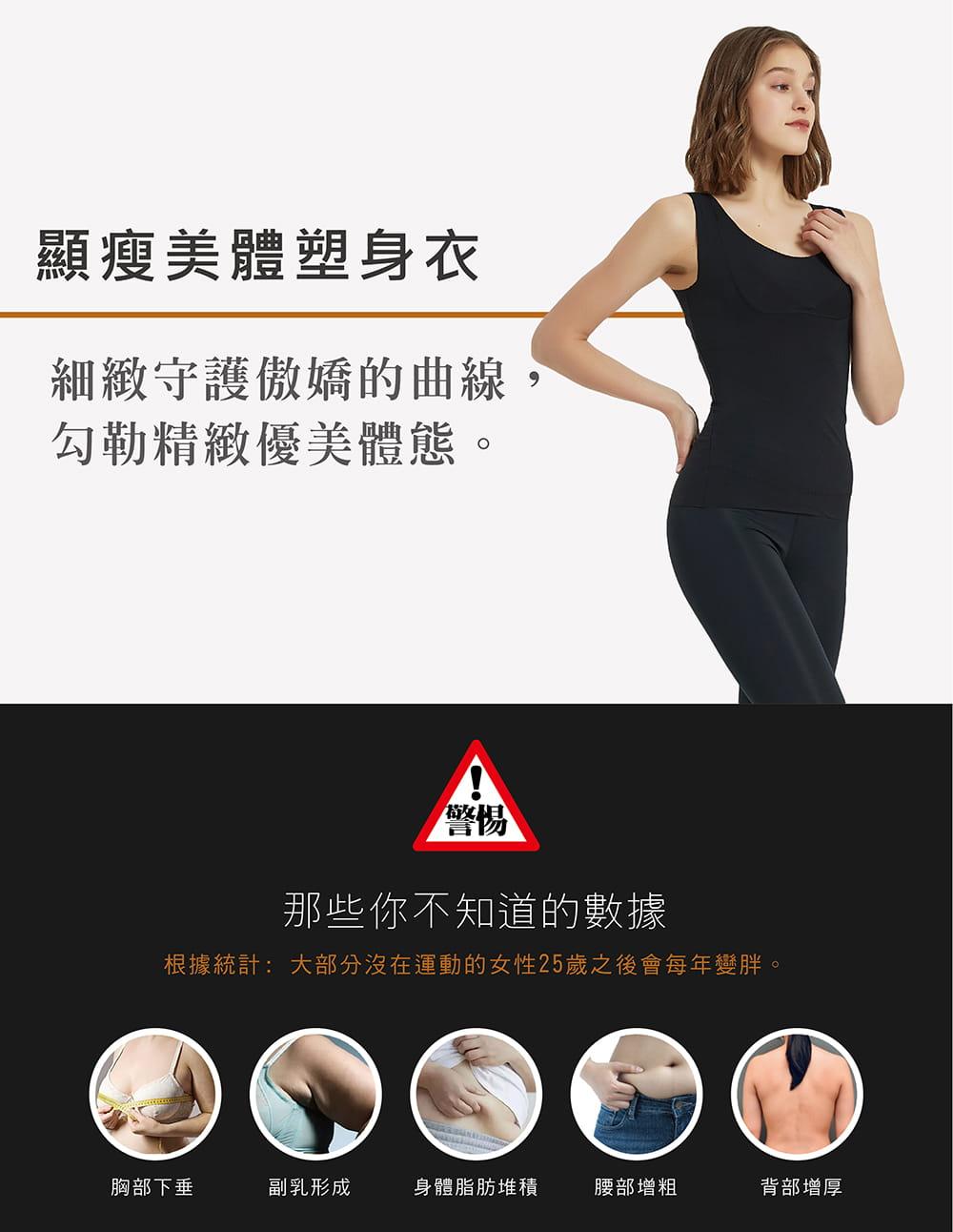 【MARIN】台灣製-顯瘦美體塑身衣 1