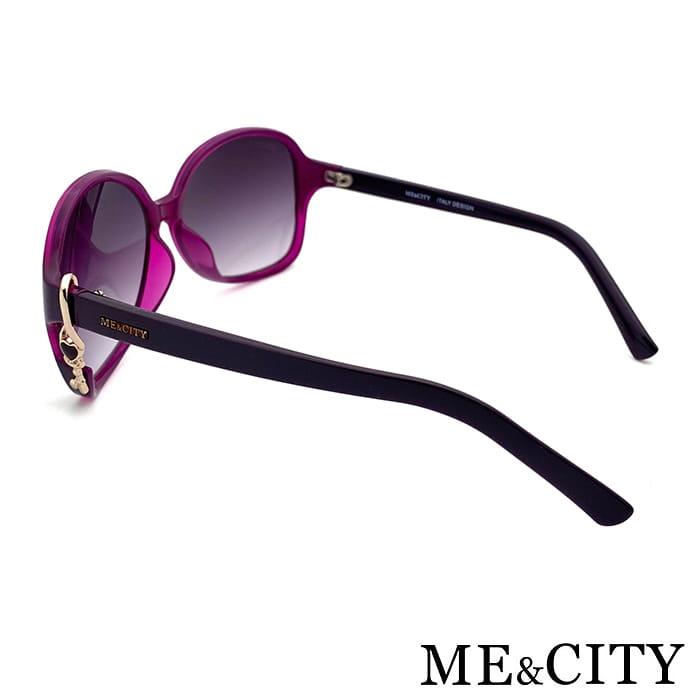 【ME&CITY】 甜美心型鎖鍊太陽眼鏡 抗UV (ME 1223 H02) 8