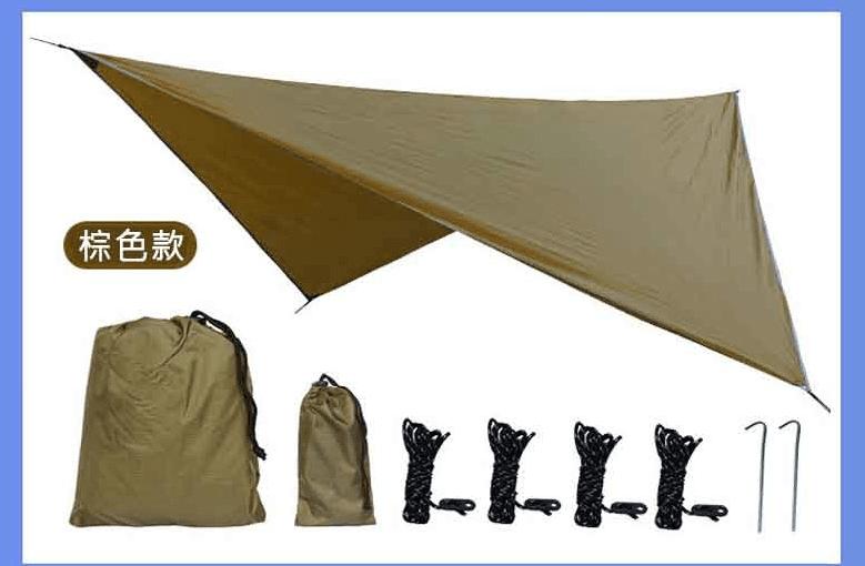 戶外露營遮陽菱形天幕 4