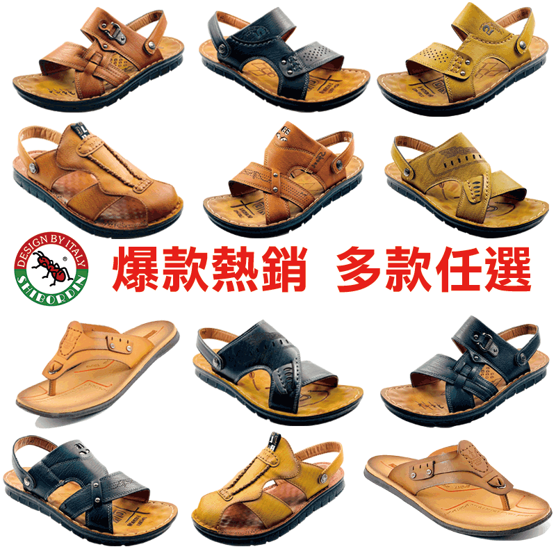(男) SHIBORDIN 春夏精選款休閒戶外拖鞋/涼鞋/多款任選