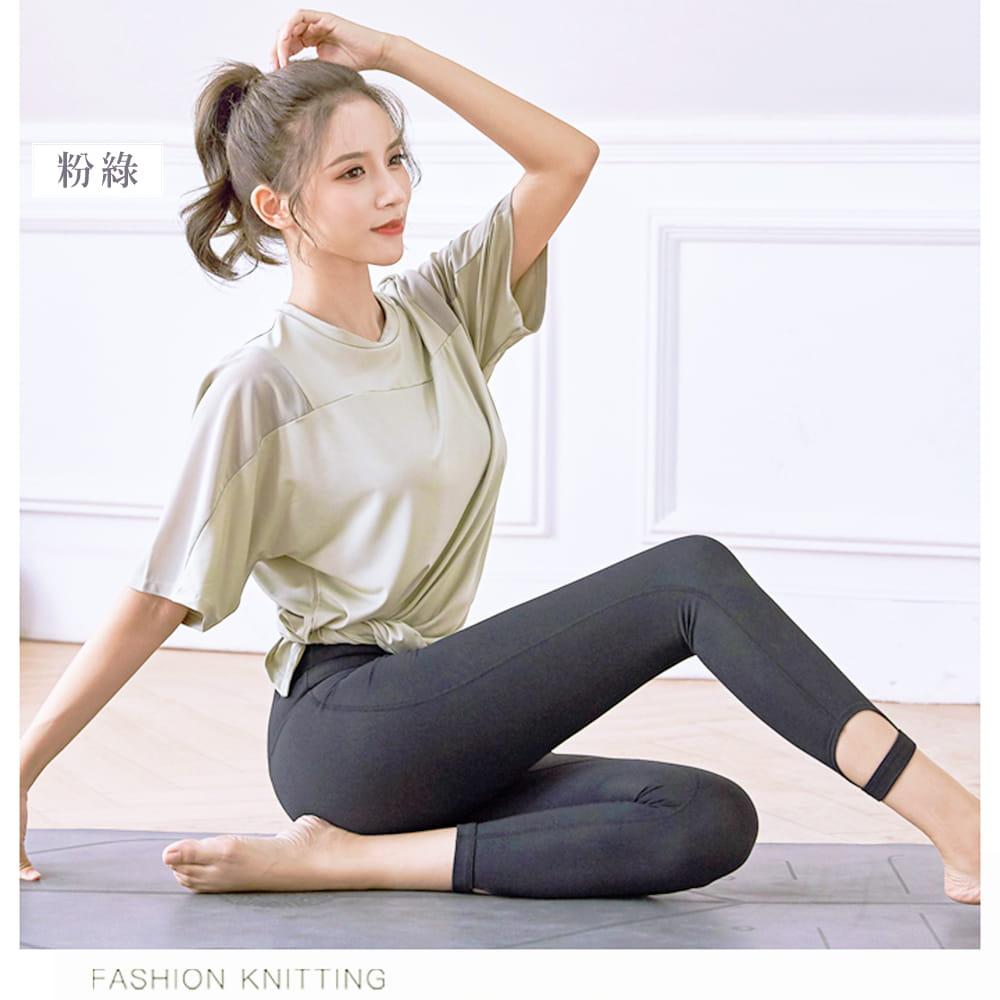 【NEW FORCE】寬鬆透氣健身瑜珈女上衣-3色可選 7