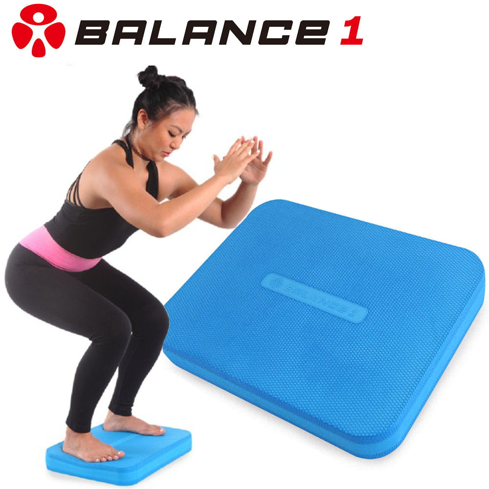 【BALANCE 1】核心健身平衡墊 (藍色) 0