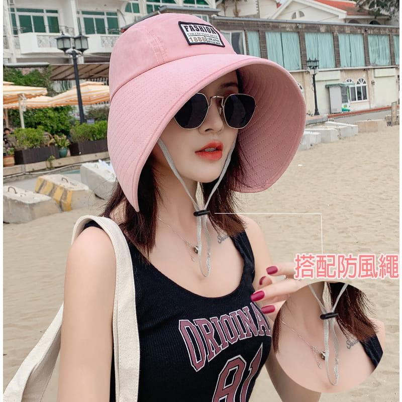 【JAR嚴選】時尚春夏360度抗UV防曬遮陽帽(遮臉修飾 大帽簷網紅爆款) 2