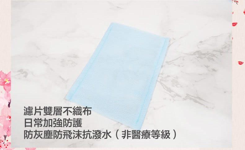 【ELASTI】台灣製日式和風口罩(買口罩送10片拋棄式濾片) 11