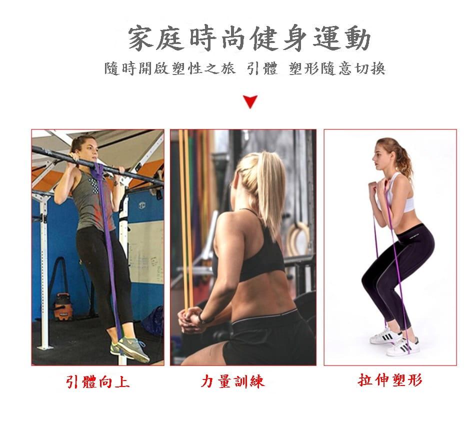 【CAIYI 凱溢】天然乳膠 專業加強版加厚型 力量訓練彈力帶 健身阻力帶 拉力圈 橘色 0