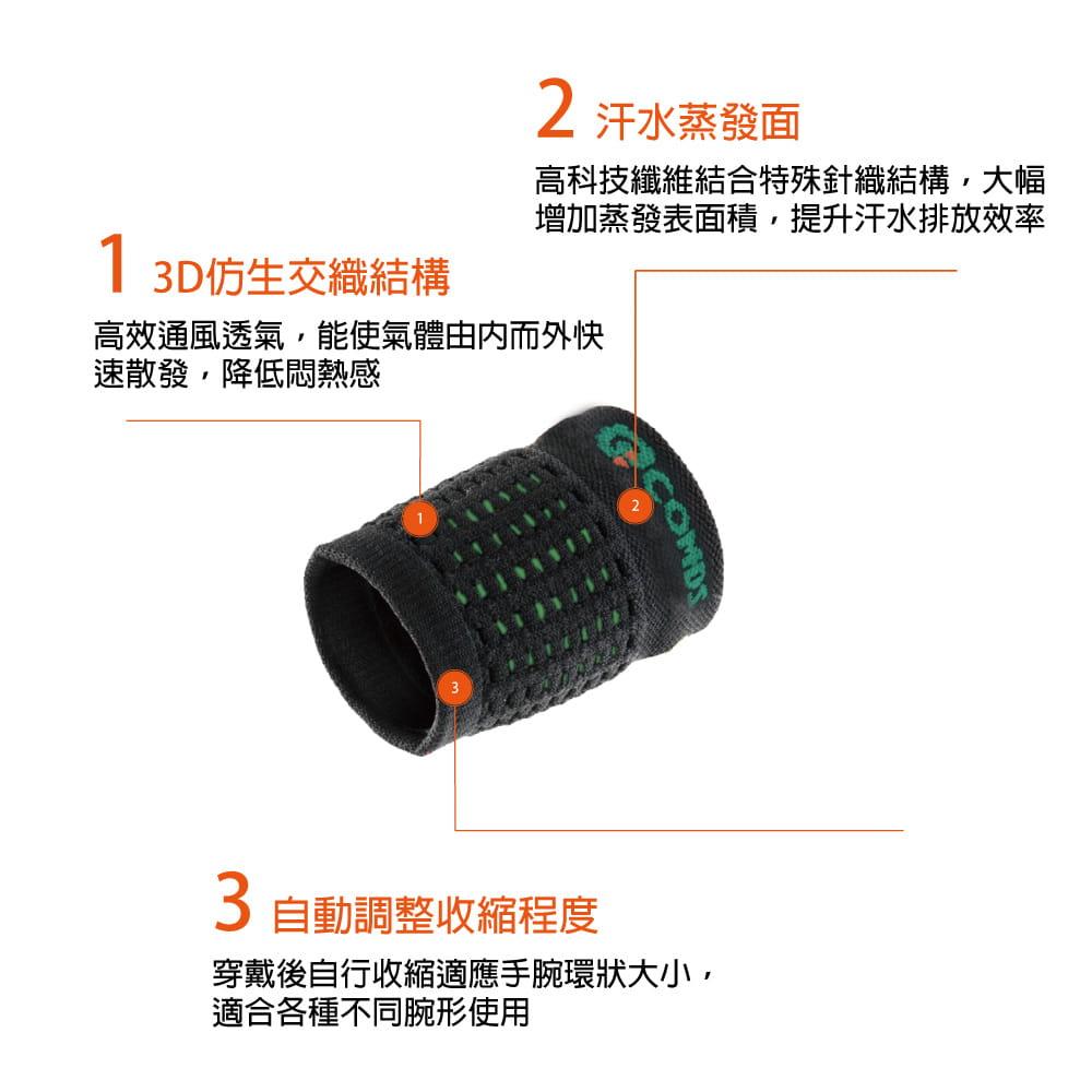 【康得適】JO-303仿生壓縮護腕 MIT微笑標章認證 5