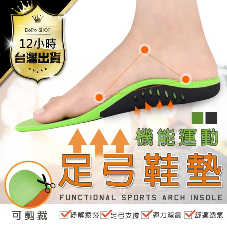 【機能型-運動足弓鞋墊】多尺寸任選 扁平救星 鞋墊 足弓墊 0