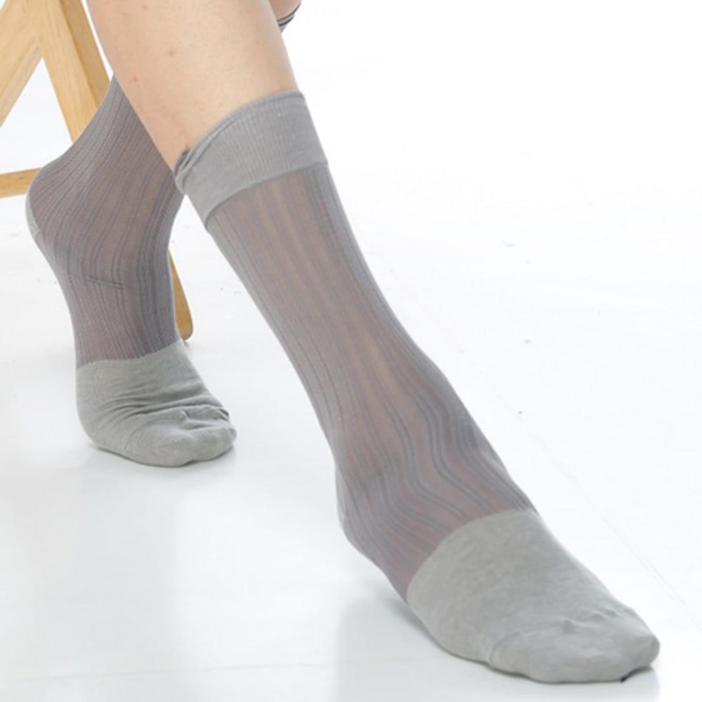 【KEROPPA可諾帕】奈米竹炭絲光棉紳士男襪x2雙C90007 2