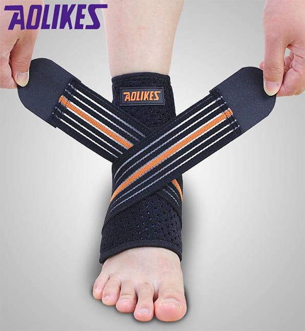 AOLIKES 繃帶加壓運動護踝 0