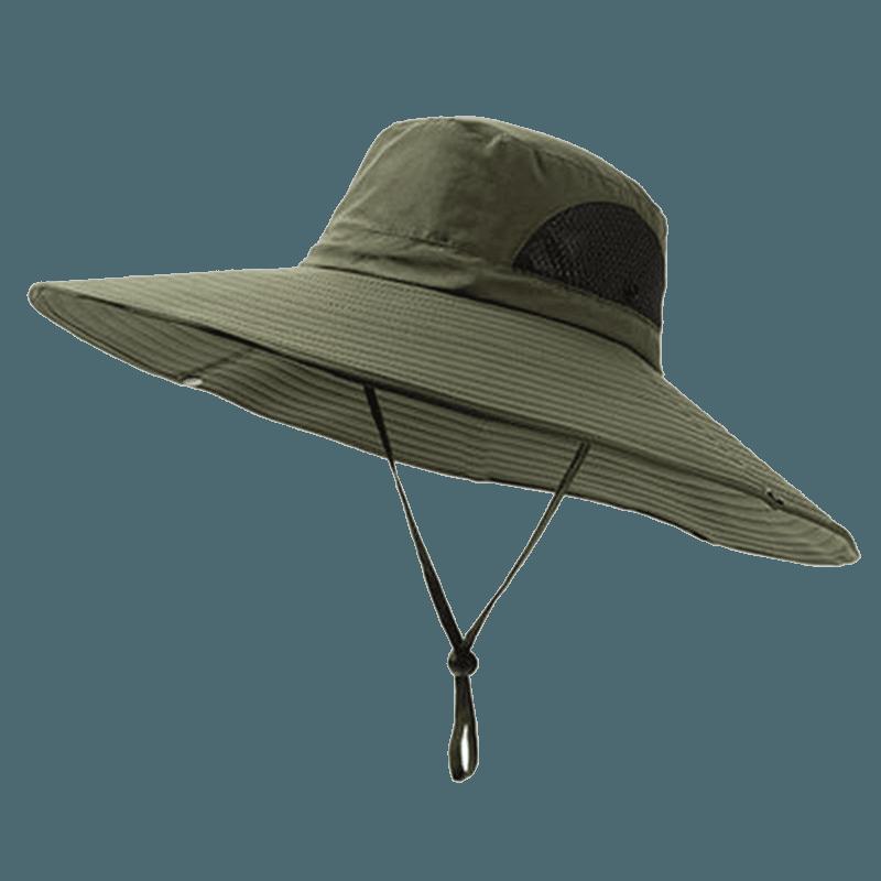戶外防曬工地釣魚遮陽帽 16