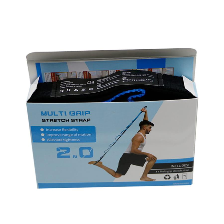 【10節 瑜珈帶】自由調整 瑜珈伸展帶 拉筋帶 瑜珈吊帶 1