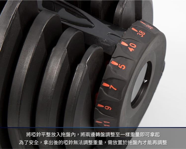 快速調整型啞鈴40公斤 3