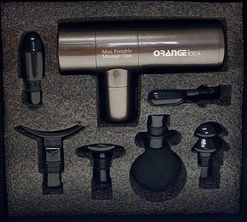 ORANGE橘點子 (台灣品牌) 業界最輕 極速輕量筋膜槍 原廠保固一年 1