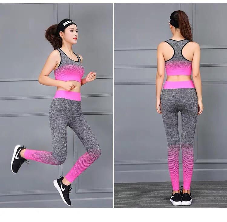 運動休閒套裝韻律有氧跑步瑜珈LETS SEA-KOI限時買一送一 3