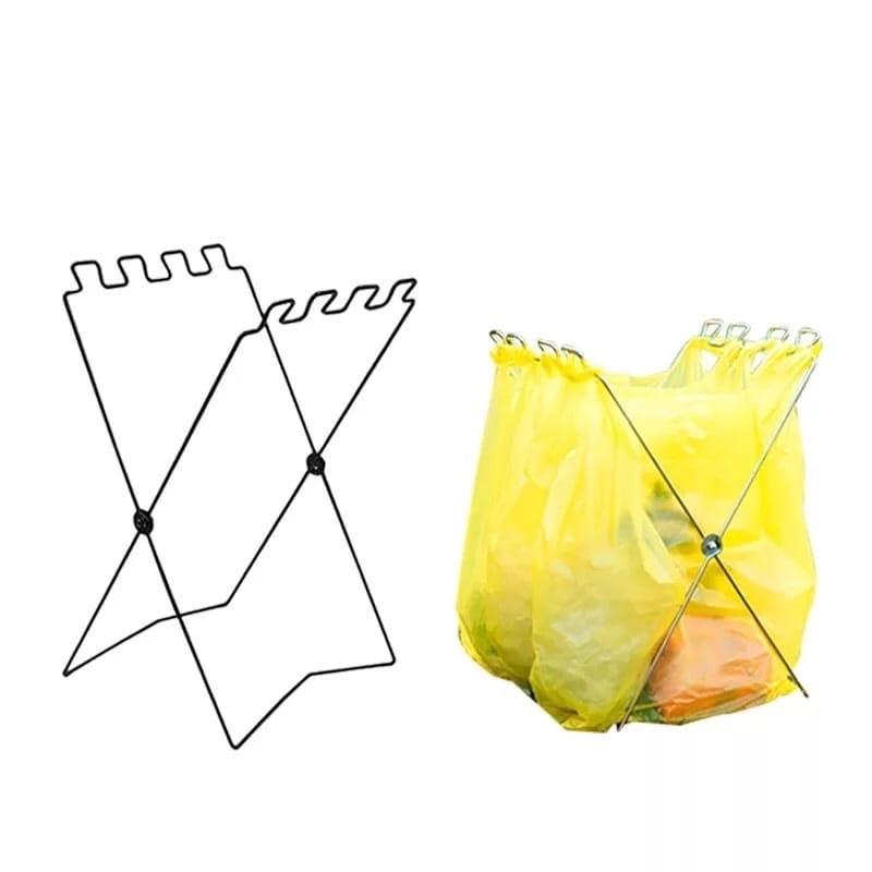 【Camp Plus】折疊垃圾架 4