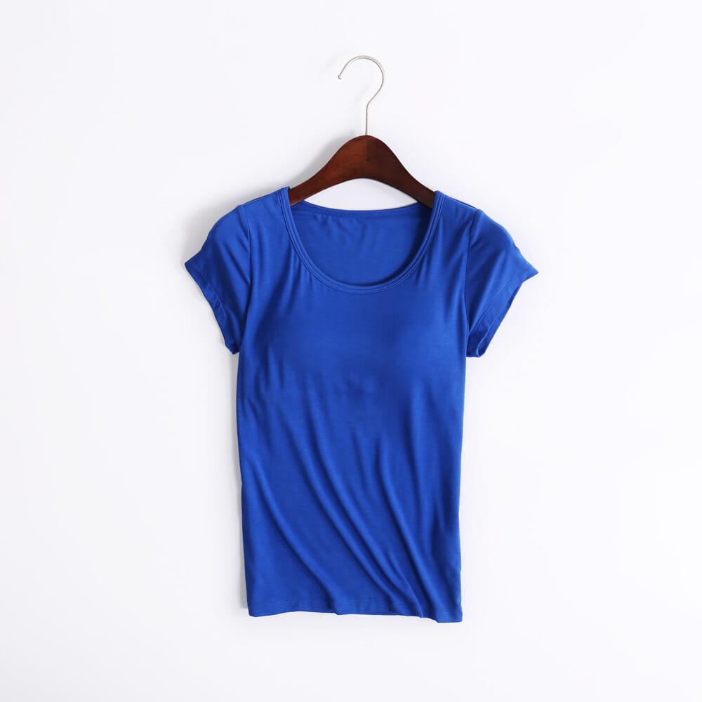 涼感萊卡免穿BRA T恤 10