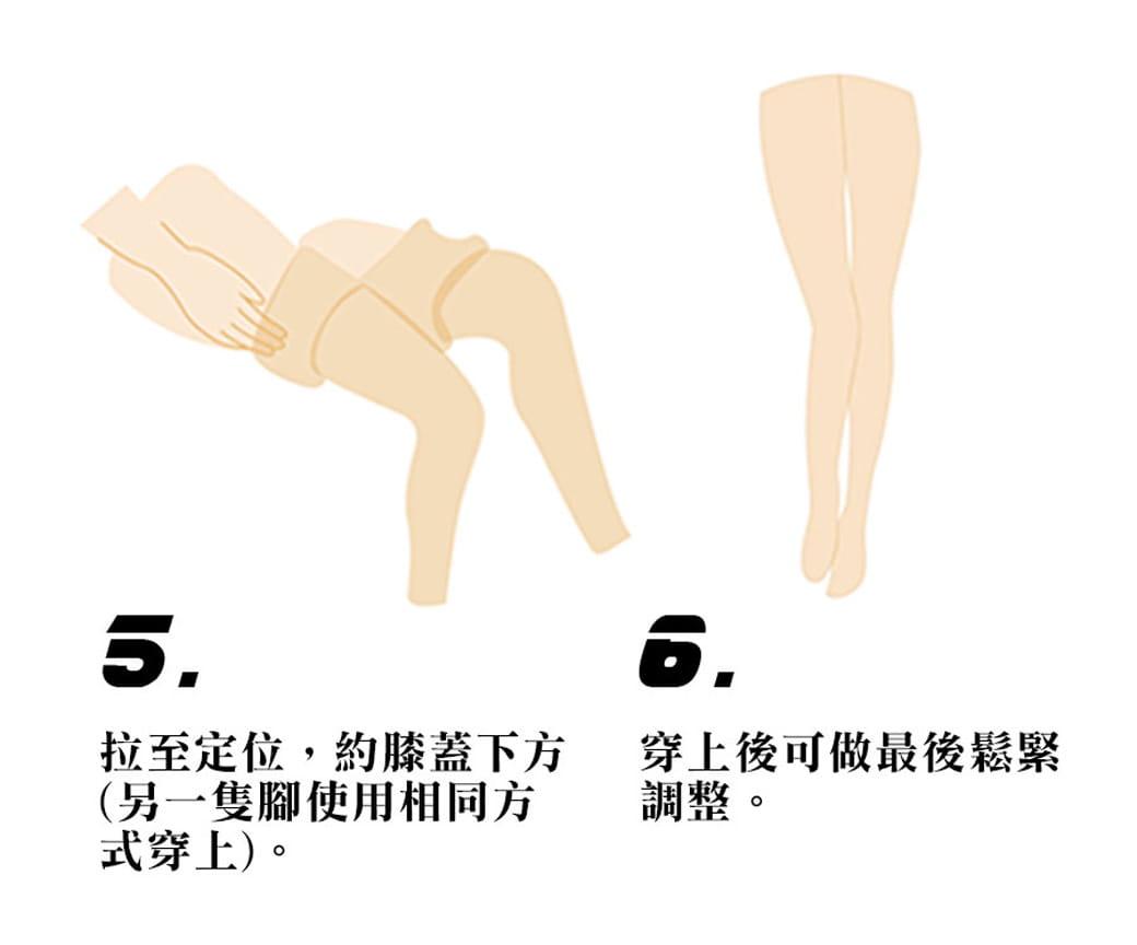 【力美特機能襪】彈力機能壓力襪(厚底款) 8