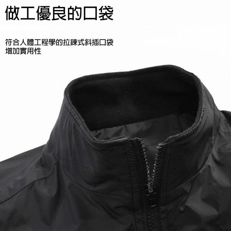 【JAR嚴選】男士時尚秋冬簡約修身夾克外套 7