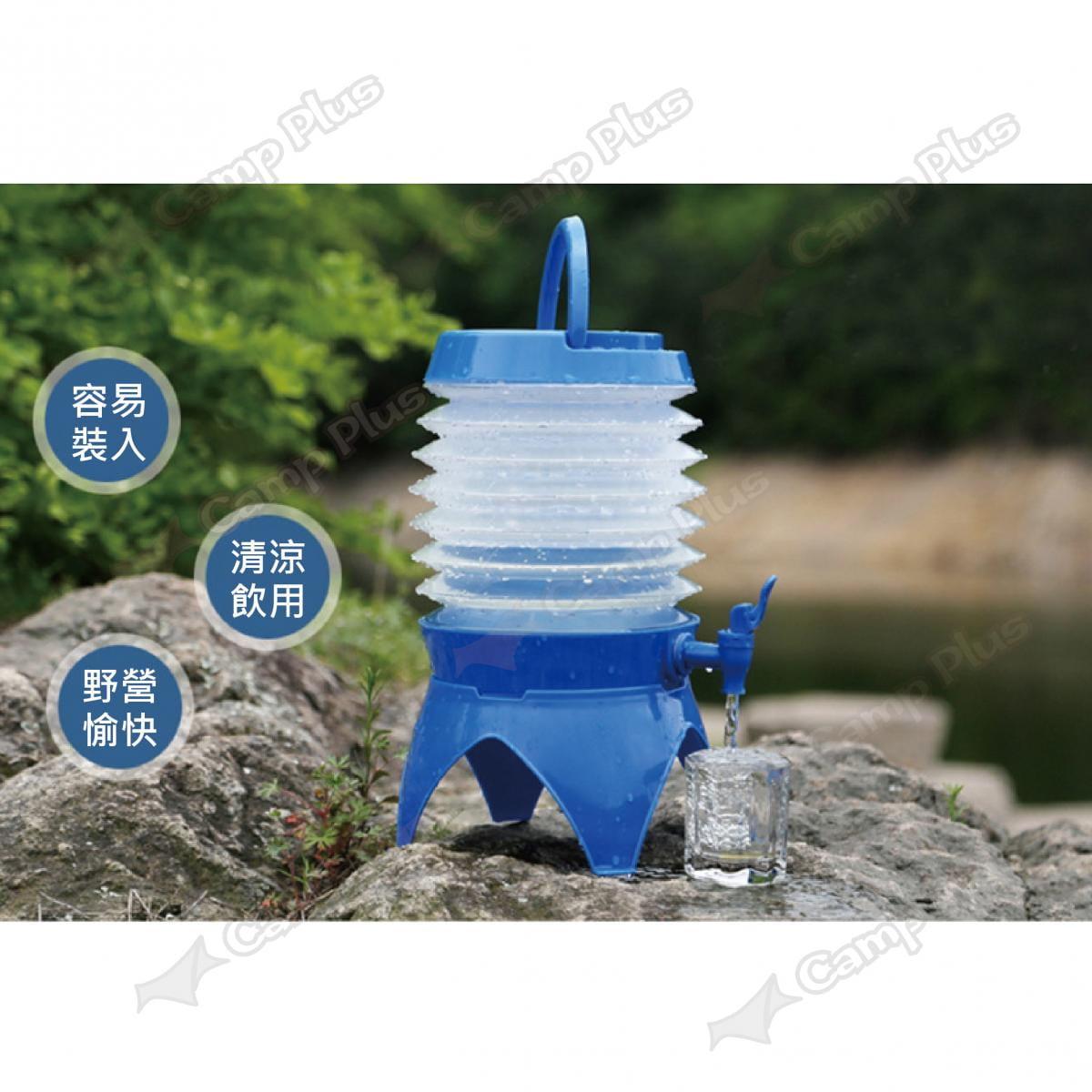 萬用摺疊伸縮飲水器 摺疊戶外飲水機  露營 野炊 悠遊戶外 9