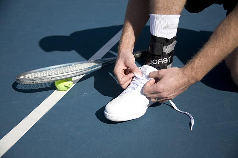 【居家醫療護具】【AIRCAST】美國A60功能性運動護踝 5