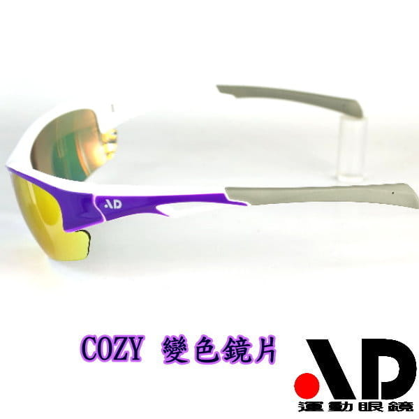 【AD運動眼鏡】AD-COZY高科技多層鍍膜變色鏡片運動太陽眼鏡/白天到夜晚一付搞定/全方位保護眼睛 4