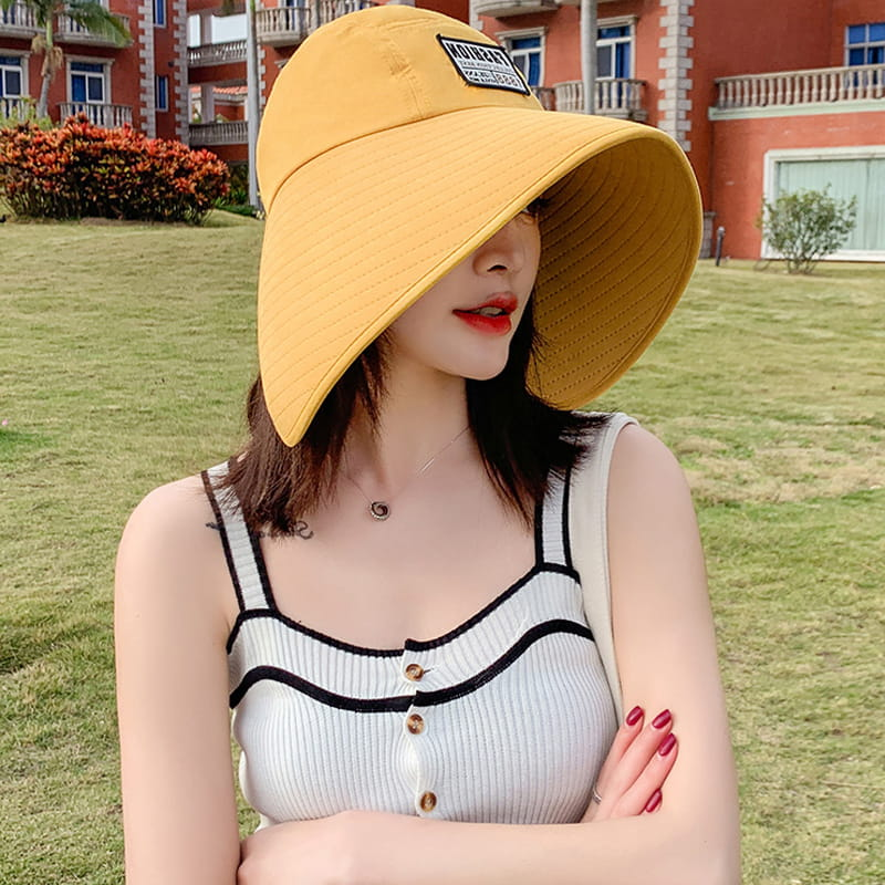 【JAR嚴選】時尚春夏360度抗UV防曬遮陽帽(遮臉修飾 大帽簷網紅爆款) 6