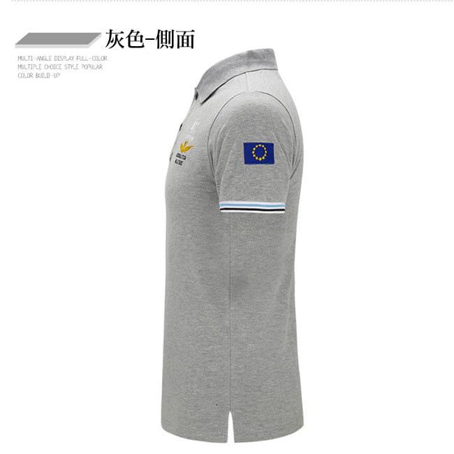 空軍MA1刺繡翻領吸汗透氣純棉短袖POLO衫 7色 M-4XL碼【 CW434212】 12