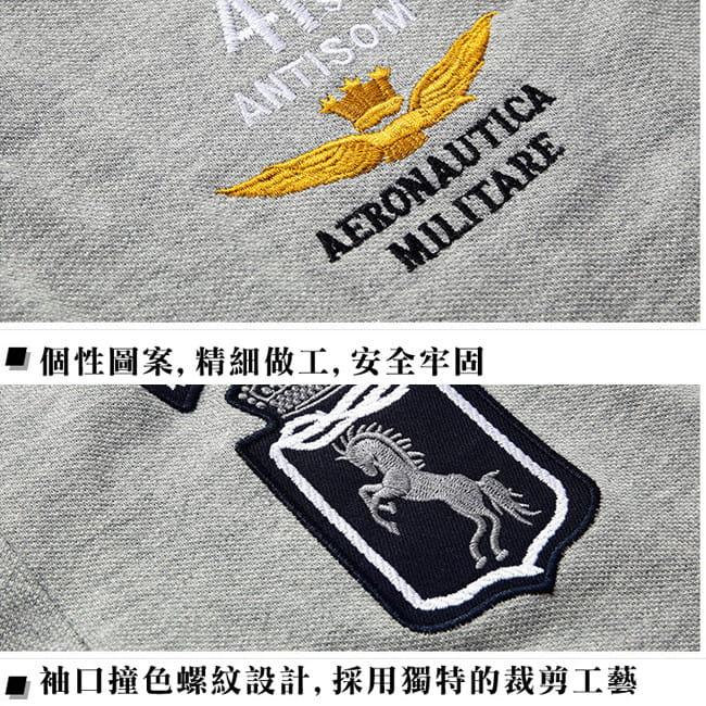 空軍MA1刺繡翻領吸汗透氣純棉短袖POLO衫 7色 M-4XL碼【 CW434212】 15